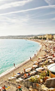Nice, the capital of the Côte d'Azur.