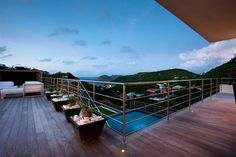 Stylish Caribbean Hideaway: ETR Modern Holiday Villa in St. Barts
