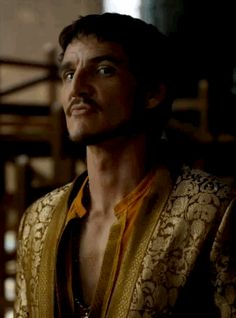 Pedro Pascal as Oberyn Martell, Game of Thrones bloopers