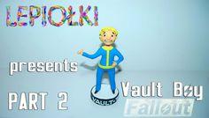 TUTORIAL: Vault boy ( Fallout) by  lepiołki  PART 2 polymer clay, z modeliny, made hand