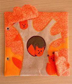 Made by Irinelli: Developmental book: all pages