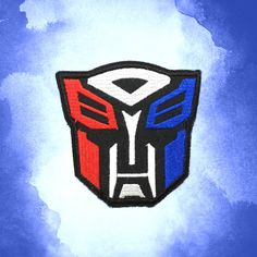 Transformers Autobots Optimus Prime patch Science Fiction patch Applique embroidered patches iron on patch sew on patch