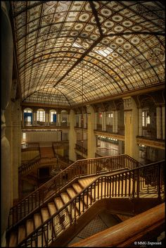 Abandoned Hertie Department Store, Germany.