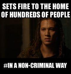 LOL #the100 #funny #Ilian #meme #in a non-criminal way #arkadia