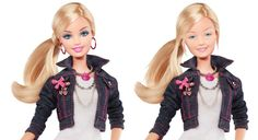 It is not new news that the image of Barbie is one that is unrealistic. It has been documented that the proportions of Barbie could never be possible, but something new is looking into what she would look like without makeup. The images show that even barbie isnt perfect underneath all the extra add-ons and idolizing her is just silly. Jessica V