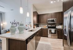 Two Bedroom Apartments, Luxury Apartments, Apartment Living, Arlington Apartments, Villa, Resort Style, Ranch Style, Beautiful Homes, Kitchen Island