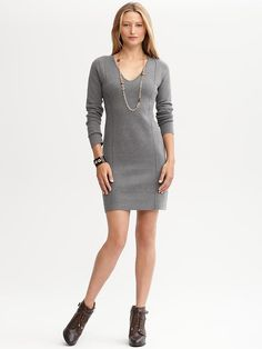 Sweater Dresses for the Fall