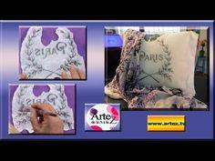 Secretos para transferir imagenes sobre telas Nina Rodrigues, Money Making Crafts, Foto Transfer, Country Paintings, Scrap, Quilted Wall Hangings, Easy Paintings, Silk Painting, Diy Videos