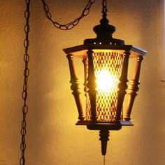 Vintage Hanging Ceiling Light Fixture by 1littletreasureshop, $44.00 ...