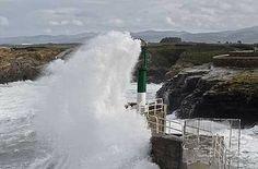 Los vientos superan los 100 km/h en varias localidades y alcanzan los 123 en Cedeira | elcorreogallego.es