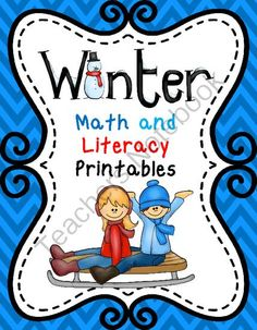 Enter a Chance to Win! - 57 pages of full of common core aligned activities!.  A GIVEAWAY promotion for Winter Math and Literacy Printables (57) pages packed full of common core aligned activities from Teaching Second Grade on TeachersNotebook.com (ends on 12-20-2013)