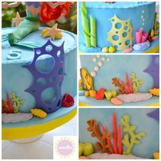 Quick and easy tutorial for sea coral! - CakesDecor
