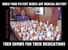 Past medical history vs med rec Medical Memes, Nursing Memes, Funny Nursing, Medical History, Healthcare Memes, Emt Memes, Funny Memes, Nursing Career, Medical Problems