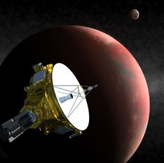 What to expect from NASA's historic Pluto flyby? - Rediff.com India News New Horizons Pluto, Stars Night, Space Probe, Dwarf Planet, Universe Today, Hubble Space Telescope, Space Program, Our Solar System, Interstellar