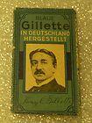 Vintage Gillette Antique Razor Blade Wrapper's Lot of Six Lot # 0604 - 0604, ANTIQUE, Blade, Gillette, RAZOR, Vintage, WRAPPERS