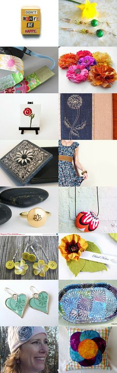 Flower Power by Anne Hermine on Etsy--Pinned with TreasuryPin.com
