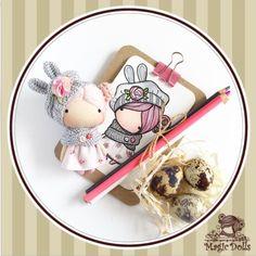 Ma Petite Poupee - Gray Bunny  h-3,54 inches (9 cm)  manufacturing in 2017  #magic__dolls #poupee  #dolls #miniature #artdoll #design #fabricdoll #textiledoll #doll #gift #art #crochet #knitting #sewing #draw #sketch  #decor #art #handmade #presents #pocketdoll #doodle #миниатюра #авторскаякукла #кукларучнойработы #текстильнаякукла #ручнаяработа #декор #lapin #bunny