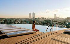 De mooiste zwembaden in hotels: Rooftop swimming pools  Hotel Gansevoort New York