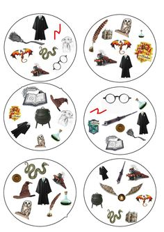 A dobble recreation to print, with illustrations drawn from the Harry Potter universe Cosplay Harry Potter, Hery Potter, Harry Potter Fiesta, Décoration Harry Potter, Harry Potter Thema, Classe Harry Potter, Harry Potter Birthday, Harry Potter Characters, Hogwarts