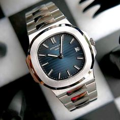 Patek Philippe - Patek Philippe You are in the right place about watch apple Here we offer you the most beautiful pi - Stylish Watches, Luxury Watches For Men, Cool Watches, Patek Watches, Patek Philippe Aquanaut, Beautiful Watches, Ankle Bracelets, Sport Watches, Vintage Watches