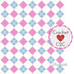 Excited to share the latest addition to my #etsy shop: INSTANT DOWNLOAD - Diamonds - Crochet Graph - Crochet Pattern - Blanket - Corner to Corner - C2C http://etsy.me/2AJmyMG #materialy #belyj #denrodena #vazanie #rozovyj #crochet #crochetc2c #c2c #c2cpattern