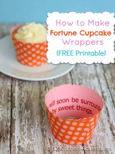 Two weeks ago, I posted a photo tutorial on how to make DIY cupcake wrappers. It's a really easy process – just print out the free template and get some pretty scrapbook paper. Today I …