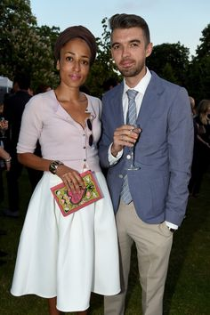 Zadie Smith And Nick Laird At The Serpentine Summer Party 2014