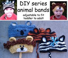 DIY animal bands $4.99