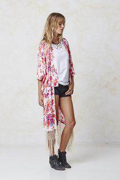 #AugusteFrank Gracie Kimono