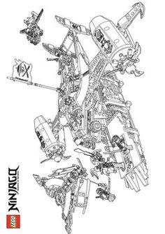 die 40 besten bilder zu ausmalbilder ninjago   ausmalbilder, ausmalen, lego ninjago