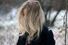 I want this blonde ombre hair colour