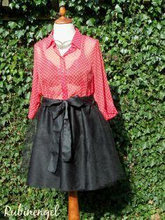 Plus Size Fashion Blog Plus Size Tule Skirt *big Love* sewed by me