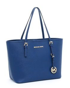 Take a break from black. MICHAEL Michael Kors Jet Set Tote