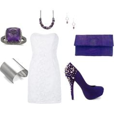 purple, created by drdonna.polyvore.com