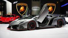 Carbon Fiber Lamborghini Jet Fighter Veneno 4 Point 5 Million Dollar Supercar Lamborghini Veneno, Lamborghini Diablo, Lamborghini Photos, Most Expensive Car Ever, Expensive Cars, Supercars, Maserati, Ferrari, Sesto Elemento