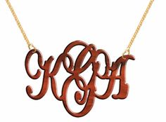 Hand Made Custom Tortoise Shell Monogram Initials Personalized V Party Jewelry $33.00