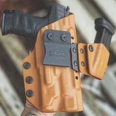 Walther Q5 Match with Inforce APL Modular Appendix Rig at DaraHolsters.com #daraholsters #q5match #waltherarms #modularappendixrig #aiwbholster