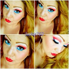 Hope everyone is enjoying their day!!! Happy4th of July!!! #picoftheday #july4th #bitchslap #bsc #cosmetics #mac #makeupjunkie #macwhore #makeupmafia #makeupmob #nyc #motd #idependenceday #girly #girlygirl #red #white #blue #blonde #falsies #lashes #redlips #lipstick #ohlala #obsessed #glam #piercing #fireworks #love #makeup - @jackie760- #webstagram