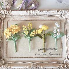 Crochet Hair Accessories, Crochet Hair Styles, Crochet Bouquet, Crochet Flowers, Crochet Food, Knit Crochet, Diy And Crafts, Crafts For Kids, Flower Arrangement Designs