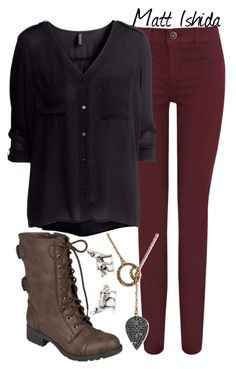 """""""Matt Ishida: Season 02"""" by allij28 ❤ liked on Polyvore featuring Oasis, H&M, Hailey Jeans Co. and Cuff-Daddy"""