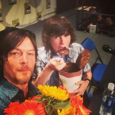 Norman and Chandler.....Lol