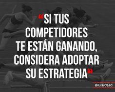 Adoptar la estrategia de tu competidor puede ser parte de tu estrategia. #SoyVendedor @luisfdeza