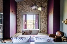 This amazing bedroom with a bath is from our feature Castigno's Whimsical World""