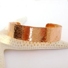 Copper Cuff Bracelet Geometric Hammered Boho Chic by TraceDesigns, $35.00 #jewelryonetsy #jetteam