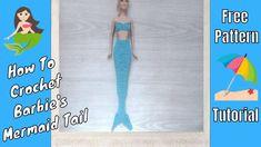 Crochet Barbie Mermaid Tail & Top