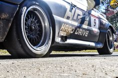 A standing start. Stills by Automotive Photography, Car Photography, Vintage Cars, Antique Cars, Hill Climb Racing, Bmw E30, Race Cars, Drag Race Cars, Retro Cars