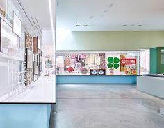Vitra Design Museum - Alexander Girard in HALBE-Rahmen