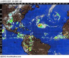 Hurricane Satellite Maps