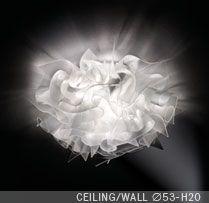 Slamp Veli Prisma ceiling-wall | Valomaailma