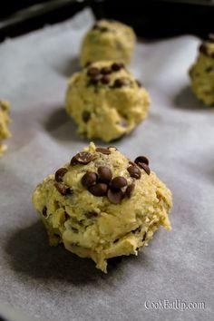 Απίθανα μπισκότα βρώμης με σοκολάτα, καρύδια και ινδοκάρυδο ⋆ Cook Eat Up! Healthy Snacks, Biscuits, Sweets, Cookies, Desserts, Recipes, Food, Kai, Health Snacks